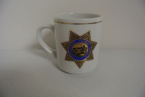Vintage CHP California Highway Patrol Coffee Cup Mug