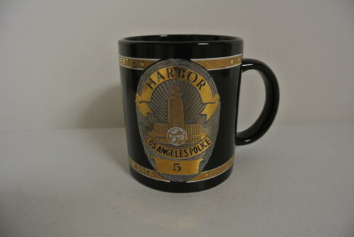 LAPD Los Angeles Police Department Harbor Division Coffee Cup Mug