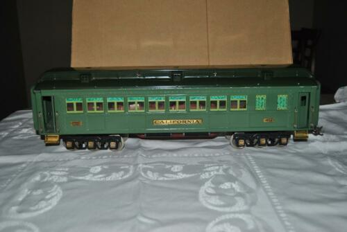 PREWAR LIONEL No 412 CALIFORNIA PULLMAN CAR from STATE SET – Standard Gauge LOOK
