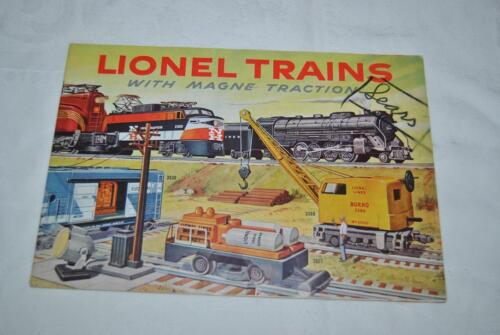 1956 LIONEL TRAINS COLOR CONSUMER CATALOG -  LOOK !!!!!!