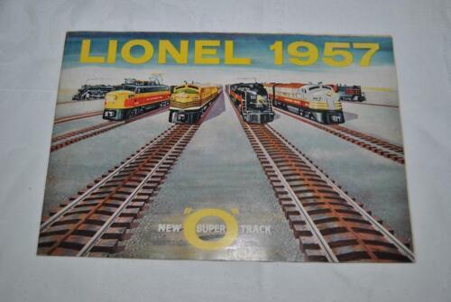1957 LIONEL TRAINS COLOR CONSUMER CATALOG - LOOK !!!!
