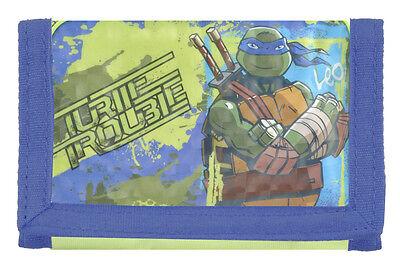 Geldbeutel Tasche Teenage Mutant Ninja Turtles Original Größe L 11cm Xh 8cm