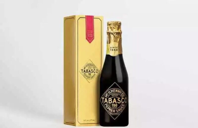 TABASCO DIAMOND RESERVE 150th Anniversary Premium Limited Edition *50% Charity*