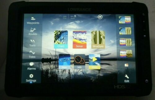 Lowrance HDS12 Touch Insight GEN2 GPS/Fishfinder USA MAPS LOWRANCE