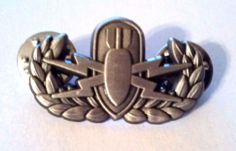 """EOD Basic Antique Silver Hat Pin  1 1/4"""""""