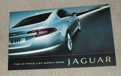 Jaguar XF Price Guide 2009 3.0 V6 Luxury Premium Luxury Portfolio XFR 5.0 V8