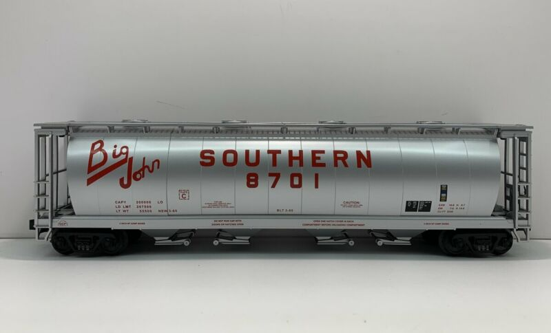 MTH 20-97435 Southern 100T 4-Bay Cylindrical Hopper LN