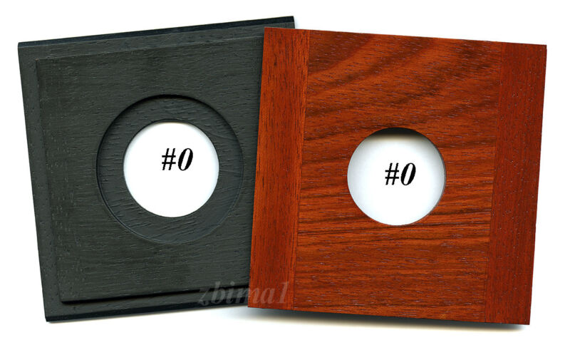 "1 LENS BOARD 4 x 4""  FOR WISNER, or CALUMET VIEW 4x5""  Jatoba #0, or  #1, or  #3"