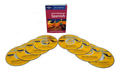 Learn to Speak Spanish Language (8 Audio CD Set w/Phrasebook) listen in your car