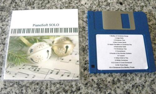 Christmas Favorites Yamaha Disklavier PianoSoft Player Pianos with Floppy Disk
