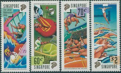 Singapore 1996 SG845-848 Olympic Games set MNH