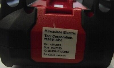 Milwaukee 2217-20nst True-rms True Rms Digital Multimeter Nist