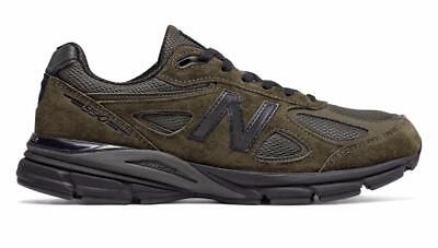 NEW BALANCE 990 M990MG4 MILITARY ARMY GREEN/BLACK - SUEDE MESH - MADE IN USA