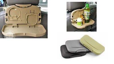 Organizador para asiento trasero de coche Abogale con mesa de comedor plegable organizador de mesa para alimentos y bebidas