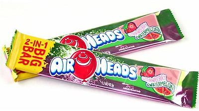 Airheads Airheads 2-in-1 Big Bar Candy Strawberry - Melon 24ct - #1 Halloween Candy Bar