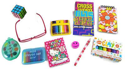 12 Piece School Supplies Set works for 18