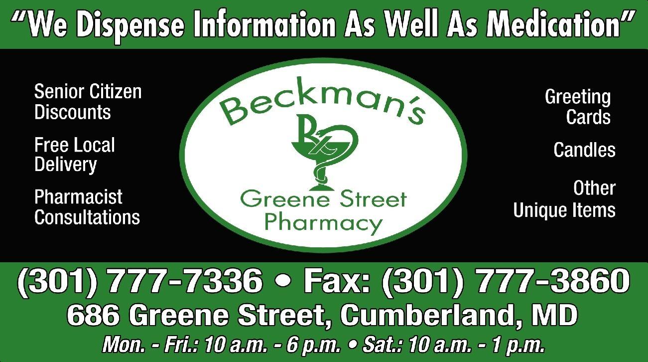 Beckman's Greene Street Pharmacy