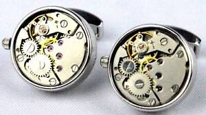 Tateossian RT Mechanical Skeleton Movement Cufflinks Morley Bayswater Area Preview