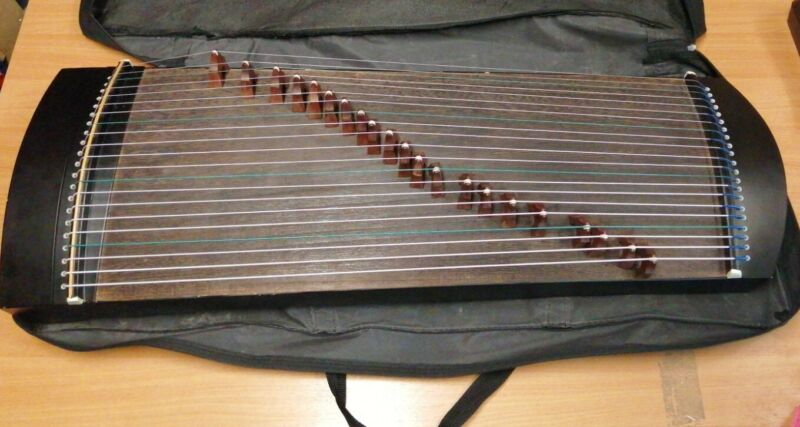 Unbranded Chinese Zipher Harp / Guzheng ** Collection Only **