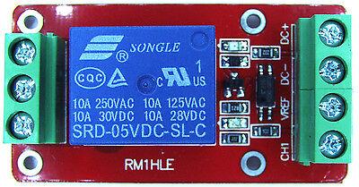 10a 5v Relay Module Optocoupler Hilo For Arduino Microcontroller Usa Shipping