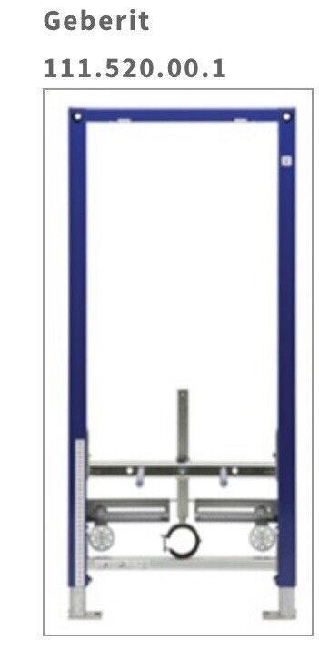 Geberit 111.520.00.1 Installation System For Wall-Hung Bidets