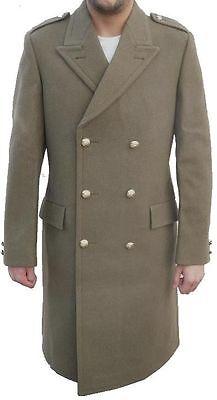 vintage camel pea coat