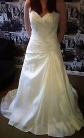 Bonny Bridal Couture Wedding Dress, stunningly beautiful, size 12 - all serious offers considered.