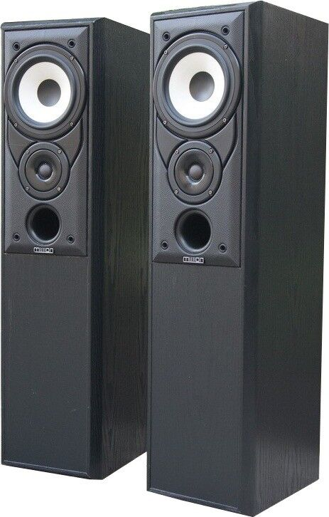 Pair of Mission floor standing speakers 702e (100W)