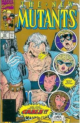 New Mutants # 87 (Rob Liefeld, 1st Cable, 2nd printing) (USA, 1990)