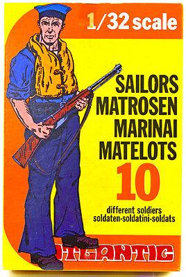 Atlantic Sailors   Set 2102   Mint In Box   60Mm Scale