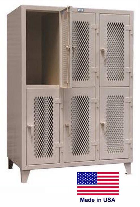 Personnel - Personal Locker Coml / Indust - Ventilated 78 H X 34 D X 54.5 W