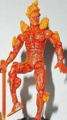 Marvel Universe HUMAN TORCH legends showdown fantastic four 4 complete toybiz