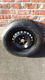 "Nissan X-Trail Bridgestone Spare Wheel 215/65R16 98M 17"""
