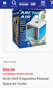 ARCTIC AIR Personal space cooler brand new!