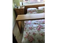 Ikea malm occasional over bed table