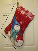 Amazing Quilted Christmas Stocking - Gift/Home/Office