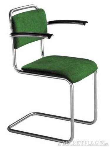 Gispen 101xl 201xl 413r eetkamerstoelen bij nnd for Bauhaus stoelen aanbieding