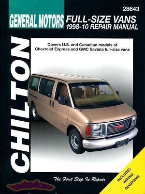 Express Shop (SHOP MANUAL SAVANA EXPRESS VAN SERVICE REPAIR GMC CHEVROLET BOOK CHILTON)