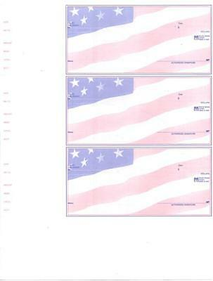 1200 Custom Wallet Checks Laser Inkjet Quickbooks 3 Per Page Business Accounting