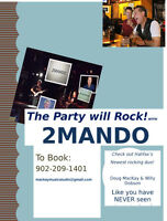 House Parties and Concerts - you need rock duo 2MANDO!