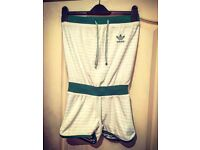 Vintage Adidas Reversible Playsuit - Size Small