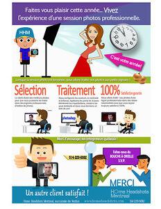 Portraits d'affaires professionnels / Service mobile express