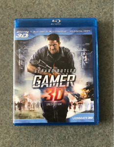 3D Blue-Ray DVD 'GAMER' and The Legend of Hercules Action Movie