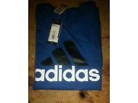 Brand New Adidas Navy Tee from JD Size M