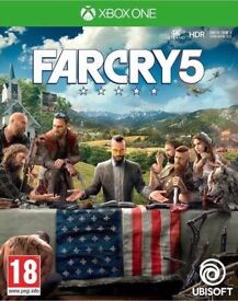 Far Cry 5 for Xbox One - brand new and unopened