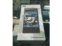 ZTE BLADE VEC 4G UNLOCKED BRAND NEW BOXED.