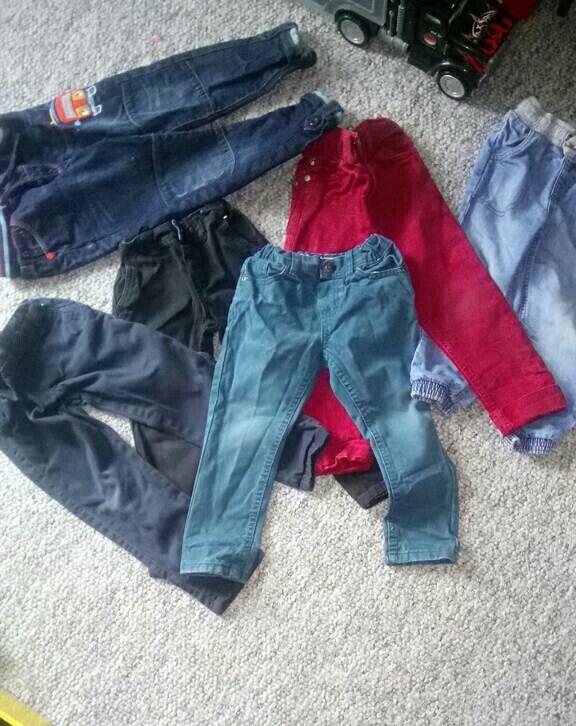 Boys 3-4 trouser bundle