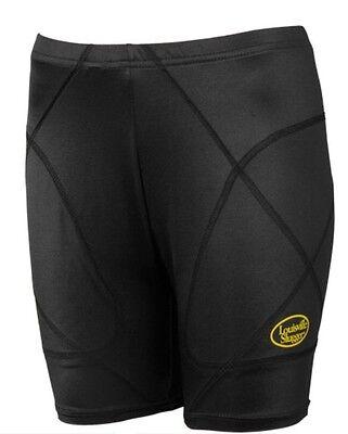 Louisville Slugger Women's Sliding Shorts Low Rise Size XL Black Softball Soccer - Low Rise Softball Sliding Short