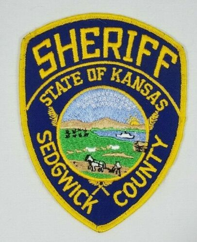 SEDGWICK COUNTY KANSAS SHERIFF DEPARTMENT POLICE SHOULDER PATCH