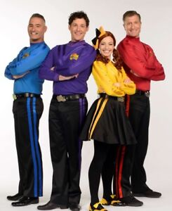 Wiggles Tickets Set of 3 (Best Offer)